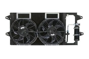 Конденсаторный блок кондиционера Mersedes Sprinter
