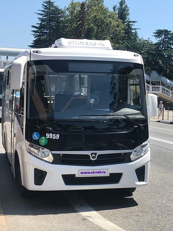 Кондиционер на автобус ПАЗ 3204